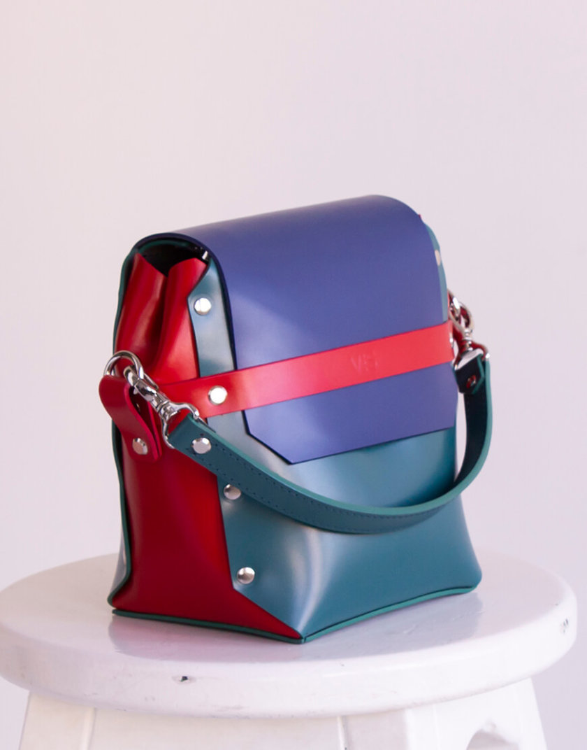Кожаная сумка на молнии Adara VIS_Adara-zipper-004, фото 1 - в интернет магазине KAPSULA