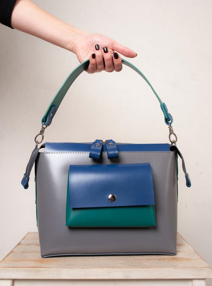 Кожаная сумка Avrora VIS_Avrora-bag-001, фото 1 - в интеренет магазине KAPSULA