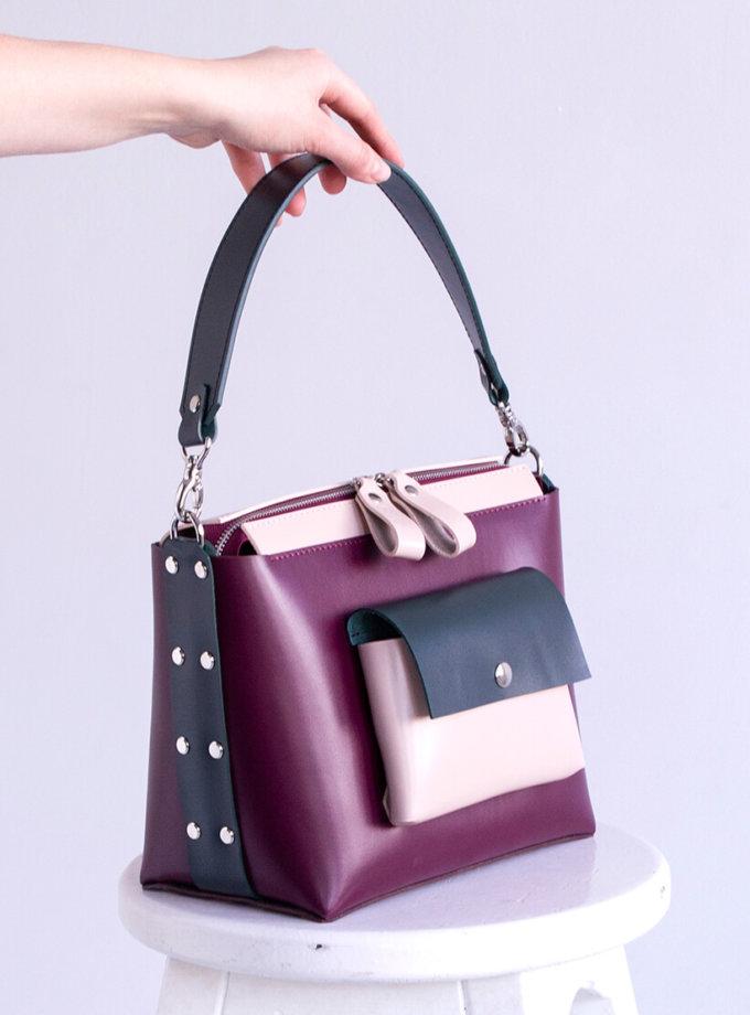 Кожаная сумка Avrora VIS_Avrora-bag-002, фото 1 - в интеренет магазине KAPSULA