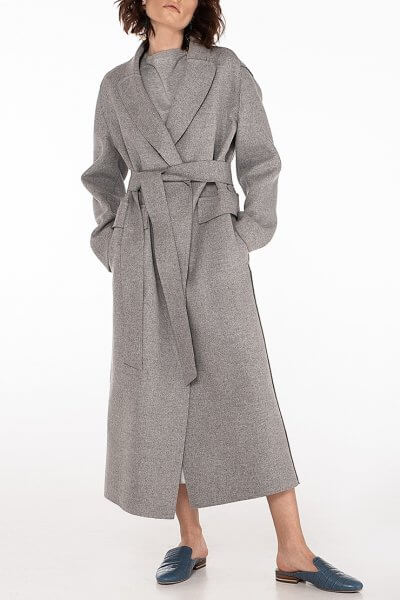 Пальто из шерсти без подклада WNDR_spr20_cgr02, фото 1 - в интеренет магазине KAPSULA