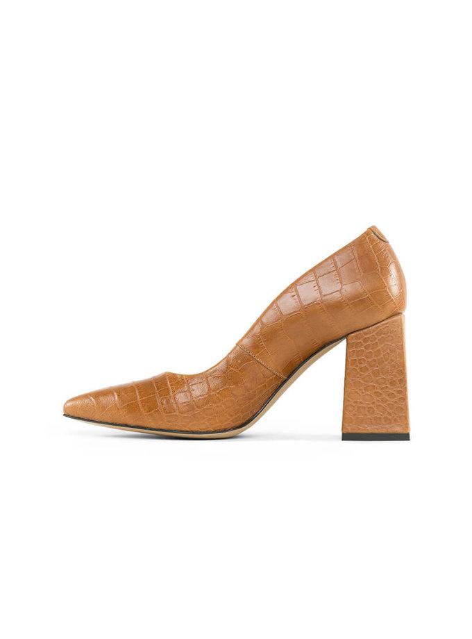 Туфли Beverly Foxy из кожи MRSL_727226, фото 1 - в интеренет магазине KAPSULA