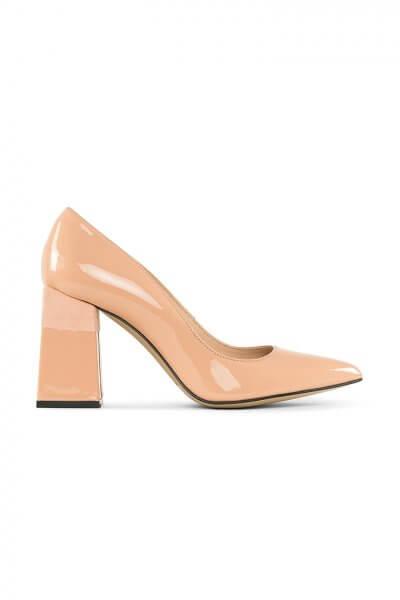 Туфли Beverly Peach из кожи MRSL_727276, фото 4 - в интеренет магазине KAPSULA
