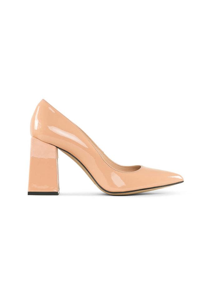 Туфли Beverly Peach из кожи MRSL_727276, фото 1 - в интеренет магазине KAPSULA