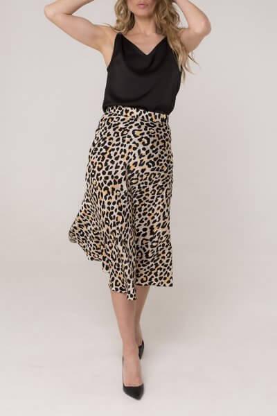 Шелковая юбка миди AD_030320, фото 1 - в интеренет магазине KAPSULA