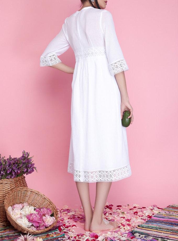 Хлопковое платье миди AY_1662, фото 1 - в интернет магазине KAPSULA