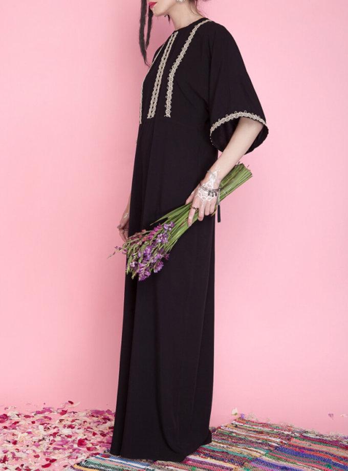 Платье макси с разрезом AY_1671, фото 1 - в интернет магазине KAPSULA