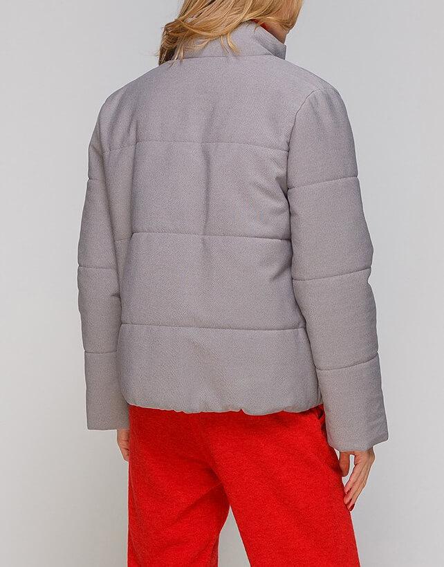 Укороченная куртка из хлопка AY_2883-outlet, фото 1 - в интернет магазине KAPSULA