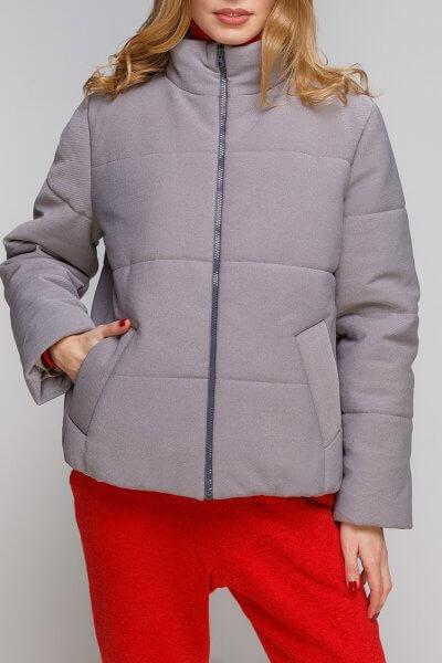 Укороченная куртка из хлопка AY_2883-outlet, фото 1 - в интеренет магазине KAPSULA