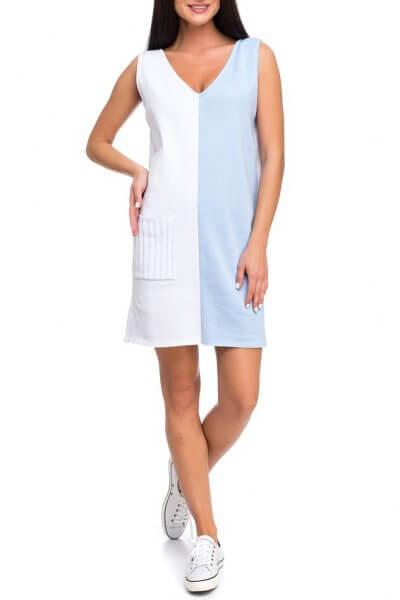 Легкое вязаное платье из хлопка HMCRG_ctndr_2_outlet, фото 7 - в интеренет магазине KAPSULA