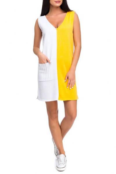 Легкое вязаное платье из хлопка HMCRG_ctndr_3_outlet, фото 1 - в интеренет магазине KAPSULA