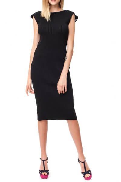 Хлопковое платье с открытой спиной HMCRG_ctndr_5_outlet, фото 1 - в интеренет магазине KAPSULA