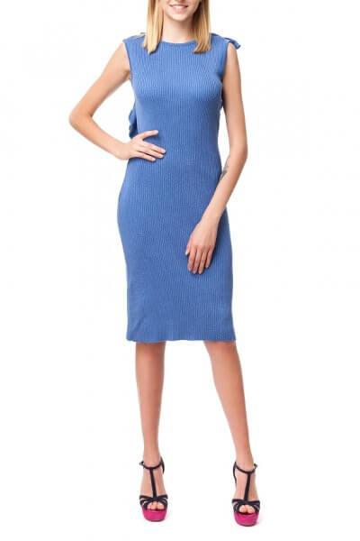 Хлопковое платье с открытой спиной HMCRG_ctndr_7_outlet, фото 1 - в интеренет магазине KAPSULA