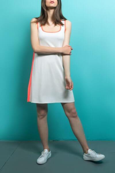 Трикотажное платье  с боковым кантом KBL_09-PTVMK, фото 1 - в интеренет магазине KAPSULA