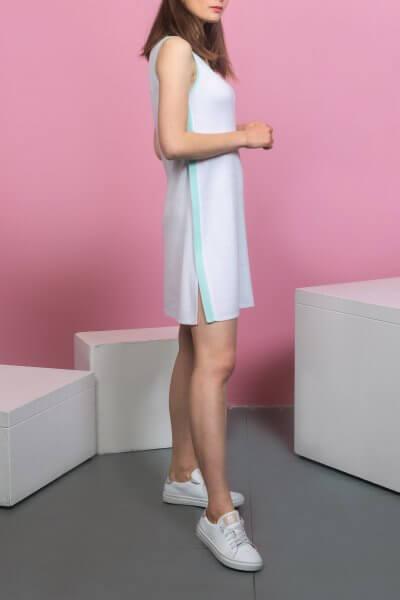 Трикотажное платье  с боковым кантом KBL_09-PTVWK, фото 1 - в интеренет магазине KAPSULA