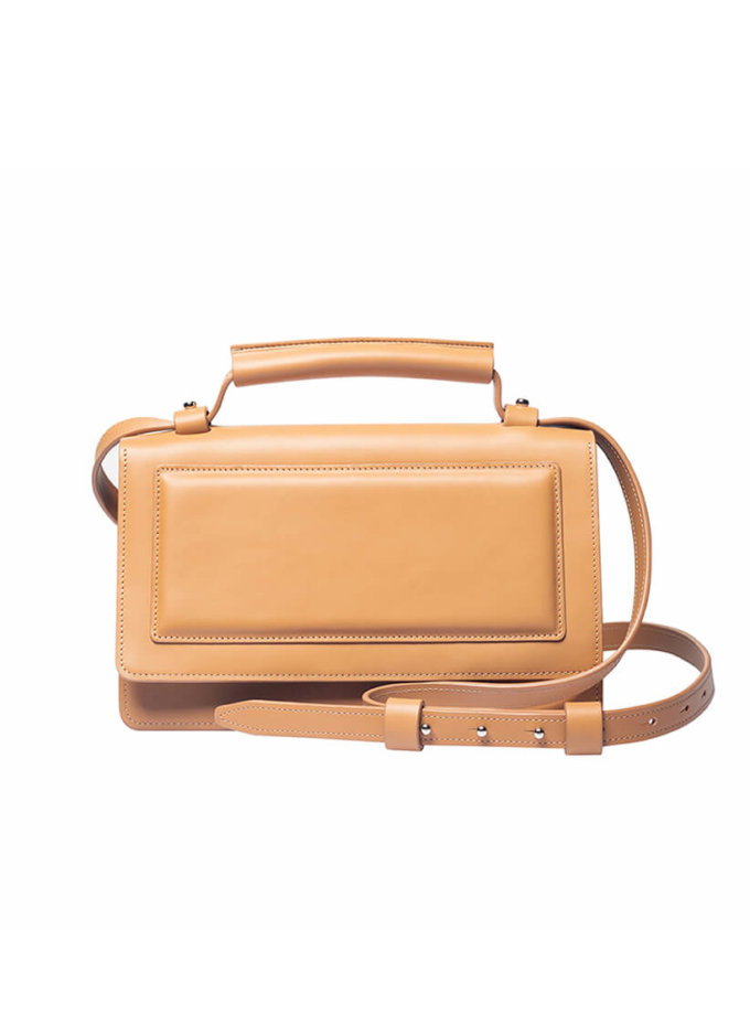 Кожаная сумка BONY KLNA_BN-Camel, фото 1 - в интеренет магазине KAPSULA