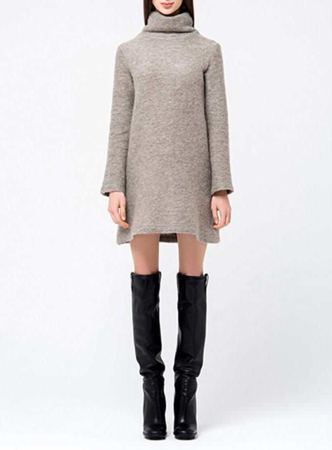 Платье-туника свободного кроя MIN_fw1718-04-outlet, фото 1 - в интернет магазине KAPSULA