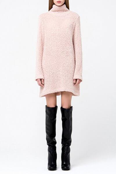 Платье-туника свободного кроя MIN_fw1718-05-outlet, фото 1 - в интеренет магазине KAPSULA