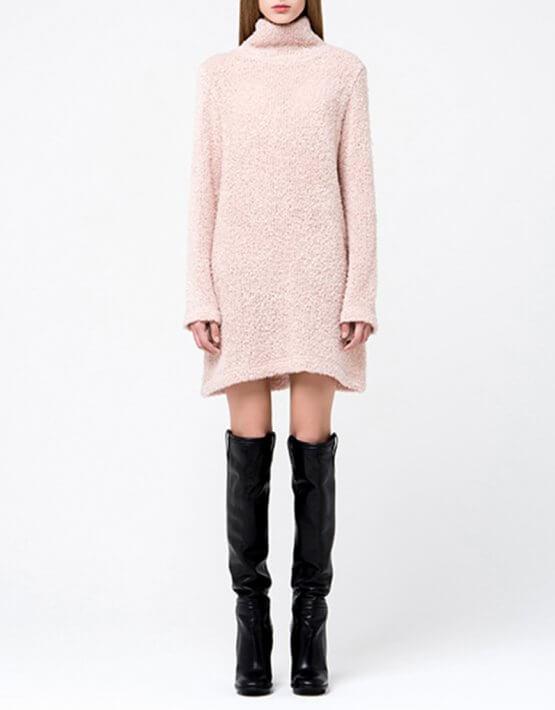 Платье-туника свободного кроя MIN_fw1718-05-outlet, фото 3 - в интеренет магазине KAPSULA