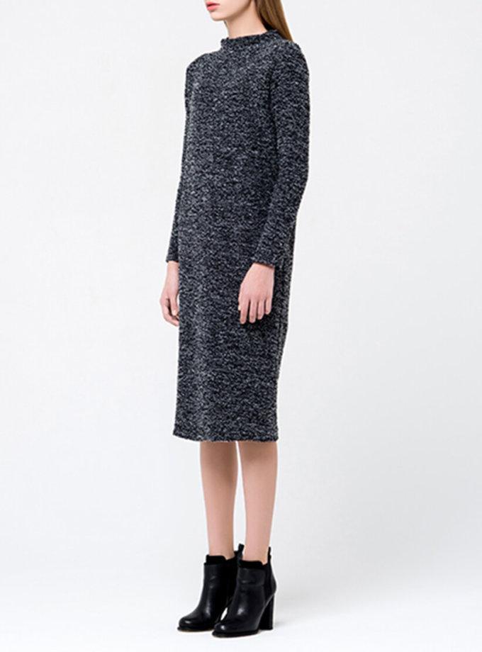 Трикотажное платье миди MIN_fw1718-06-outlet, фото 1 - в интернет магазине KAPSULA