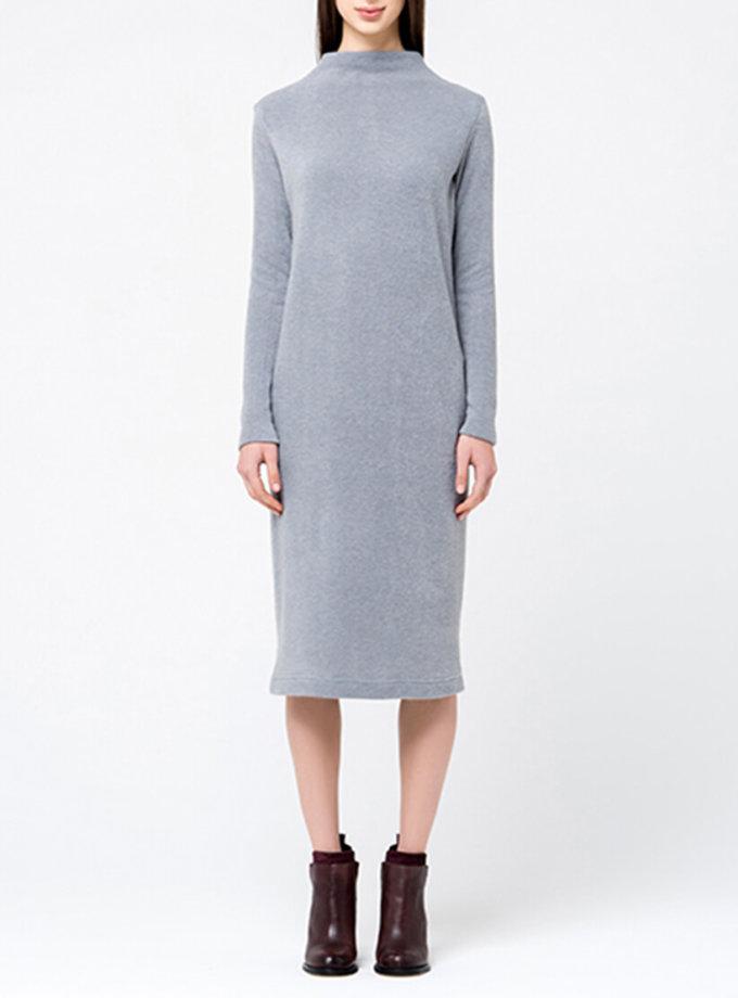 Трикотажное платье миди MIN_fw1718-07-outlet, фото 1 - в интеренет магазине KAPSULA