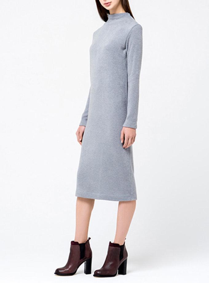 Трикотажное платье миди MIN_fw1718-07-outlet, фото 1 - в интернет магазине KAPSULA