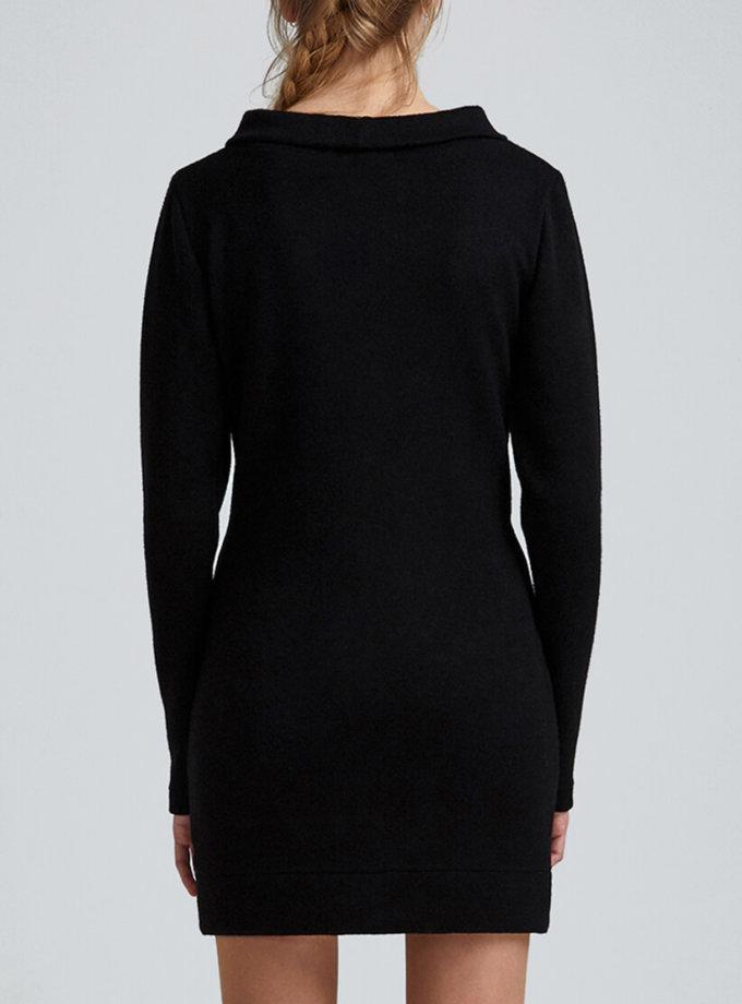 Платье мини из трикотажа MIN_fw1819-12-outlet, фото 1 - в интеренет магазине KAPSULA