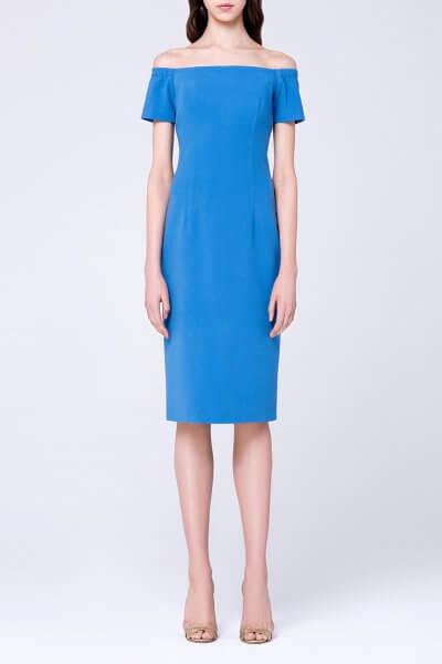 Платье-футляр с открытыми плечами MIN_ss1702-outlet, фото 1 - в интеренет магазине KAPSULA