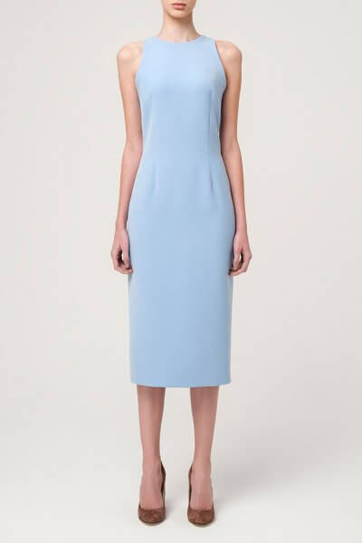 Платье-футляр миди MIN_ss_1601-outlet, фото 5 - в интеренет магазине KAPSULA