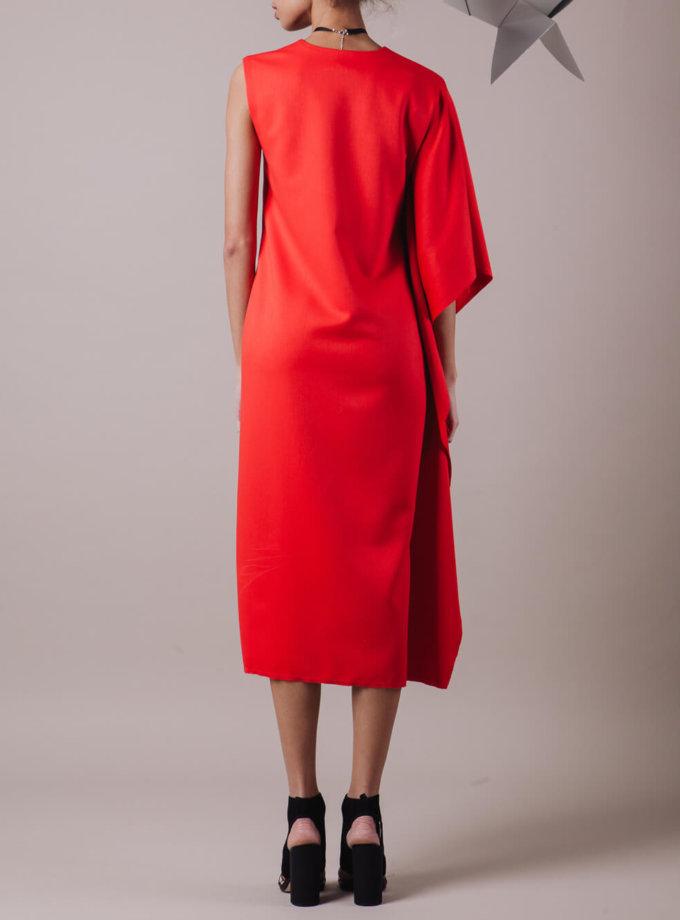 Платье на одно плечо MMT_046_dress_one_shoulder, фото 1 - в интернет магазине KAPSULA