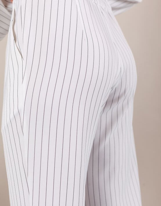 Костюм с брюками дудочками MMT_096_047a_white_strip, фото 7 - в интеренет магазине KAPSULA