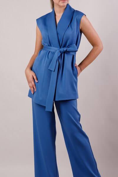 Костюм с жилетом MMT_suit-with-vest-blue, фото 1 - в интеренет магазине KAPSULA