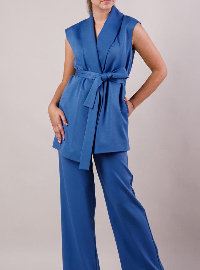 Костюм с жилетом MMT_suit-with-vest-blue, фото 1 - в интернет магазине KAPSULA