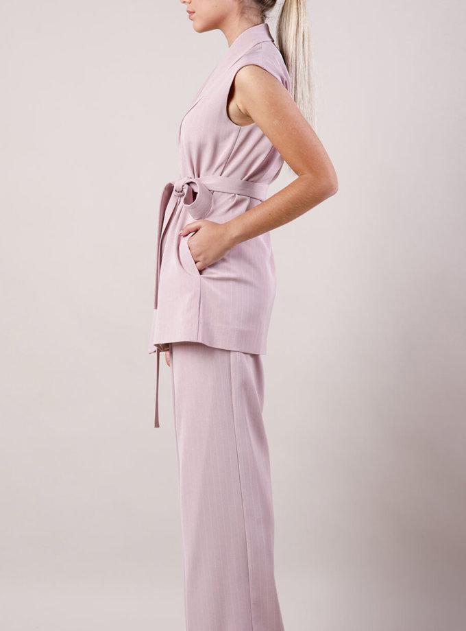Костюм с жилетом MMT_suit-with-vest-pink-stripes, фото 1 - в интернет магазине KAPSULA