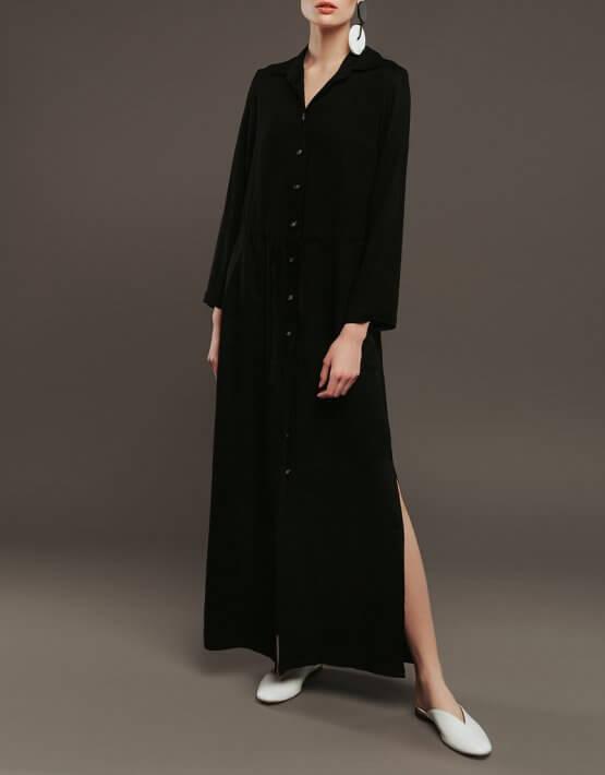 Платье-туника из хлопка NM_337, фото 3 - в интеренет магазине KAPSULA