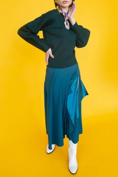 Юбка с воланом SAYYA_FW792-1_outlet, фото 1 - в интеренет магазине KAPSULA