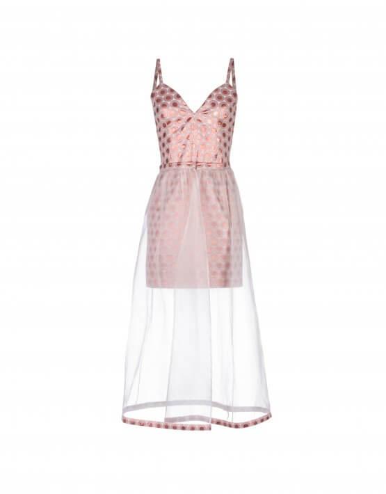 Платье со сьемной юбкой SKR_10012_outlet, фото 3 - в интеренет магазине KAPSULA