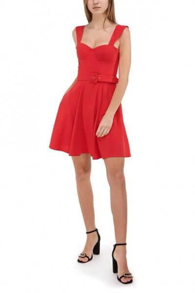 Платье-бюстье на бретелях SKR_10030_red-outlet, фото 1 - в интеренет магазине KAPSULA