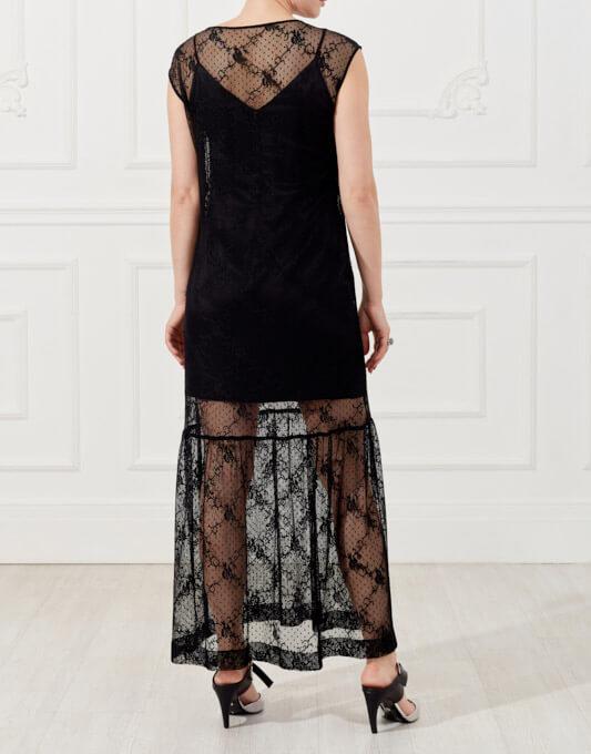 Платье с кружевным футляром SKR_10043_outlet, фото 3 - в интеренет магазине KAPSULA