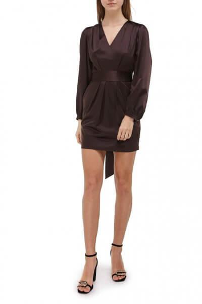 Платье мини из шелка SKR_10051_outlet, фото 3 - в интеренет магазине KAPSULA