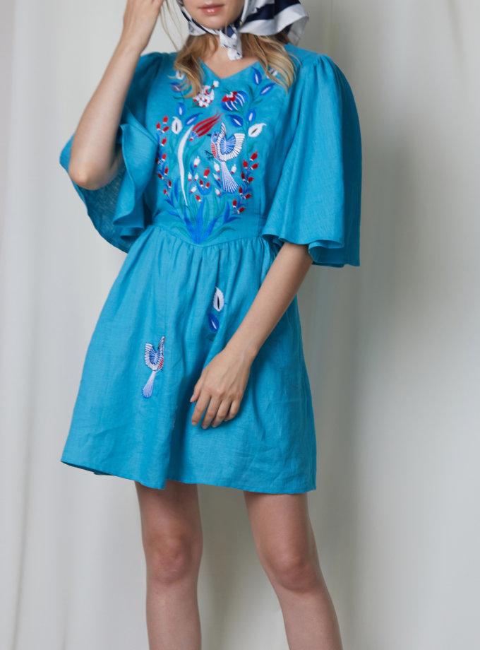 Мини-платье КВЕЗАЛЬ FOBERI_SS20010, фото 1 - в интернет магазине KAPSULA