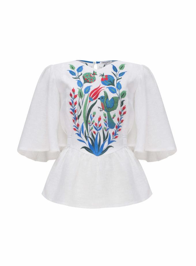 Блуза КВЕЗАЛЬ FOBERI_SS20014, фото 1 - в интеренет магазине KAPSULA