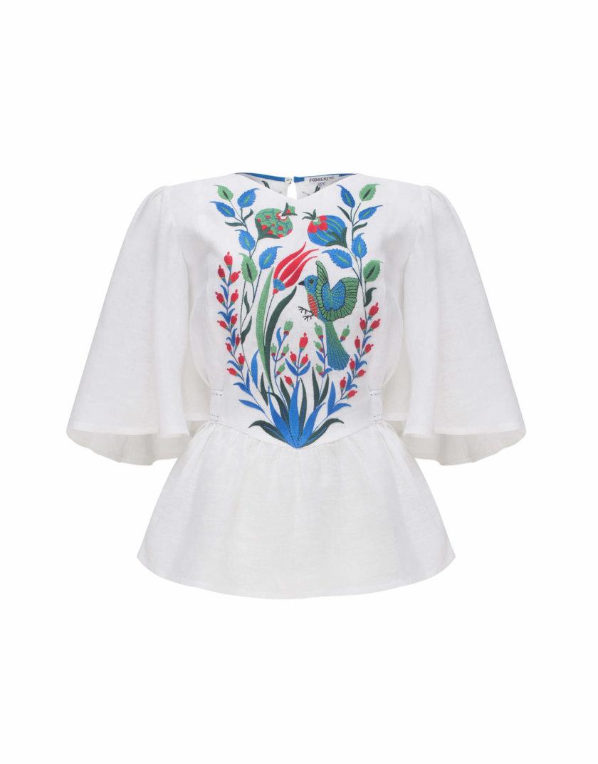 Блуза КВЕЗАЛЬ FOBERI_SS20014, фото 1 - в интернет магазине KAPSULA