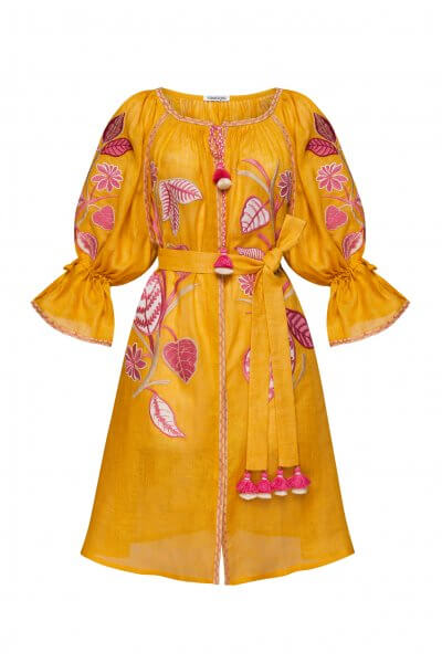 Платье миди ЭДЭМ FOBERI_SS20033, фото 3 - в интеренет магазине KAPSULA