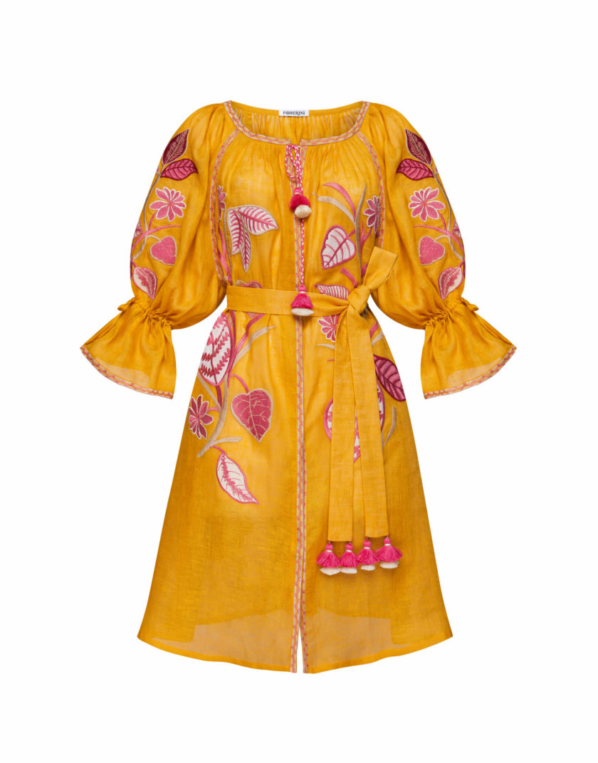 Платье миди ЭДЭМ FOBERI_SS20033, фото 1 - в интернет магазине KAPSULA