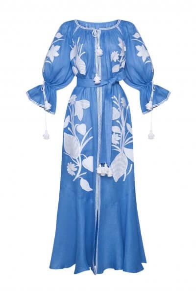 Платье макси ЭДЭМ FOBERI_SS20035, фото 1 - в интеренет магазине KAPSULA