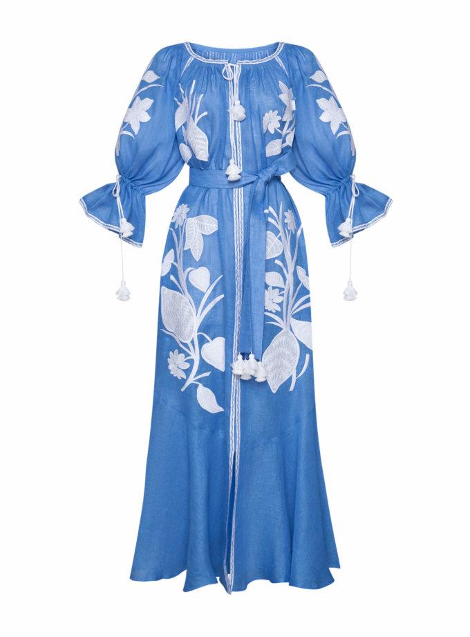 Платье макси ЭДЭМ FOBERI_SS20035, фото 1 - в интернет магазине KAPSULA