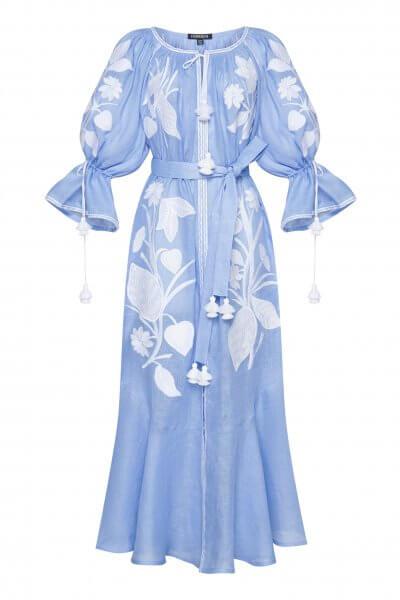 Платье макси ЭДЭМ FOBERI_SS20037, фото 1 - в интеренет магазине KAPSULA