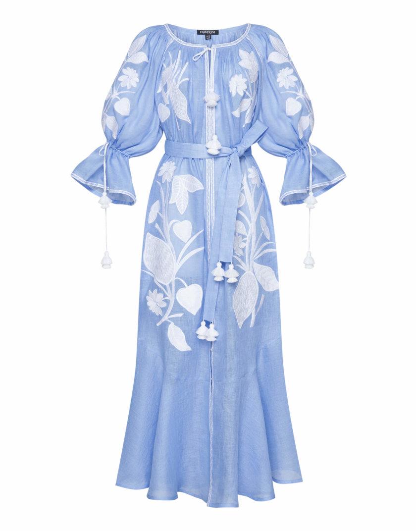 Платье макси ЭДЭМ FOBERI_SS20037, фото 1 - в интернет магазине KAPSULA