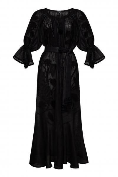 Льняное платье макси Эдем FOBERI_SS20094, фото 1 - в интеренет магазине KAPSULA