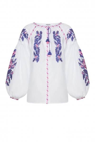 Льняная блуза Клэр FOBERI_SS20111, фото 3 - в интеренет магазине KAPSULA